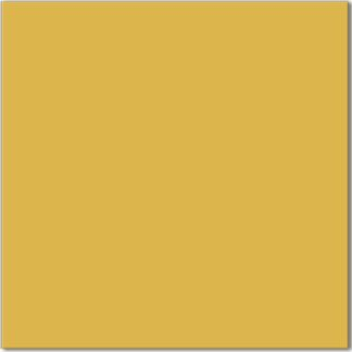 Golden yellow tile - a square ceramic wall tile with gloss finish