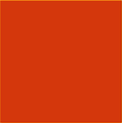 Orange red tile - a square ceramic wall tile with gloss finish