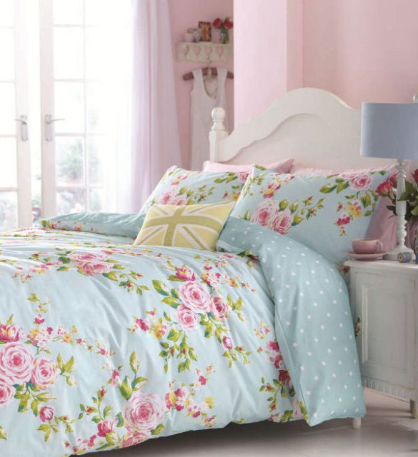 Shabby Chic Tiles - Floral patterns and fabrics