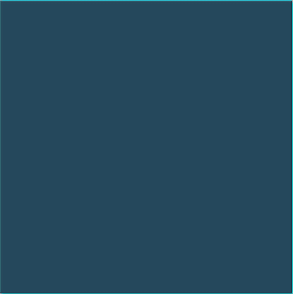 Teal wall tile - a square ceramic wall tile with gloss finish