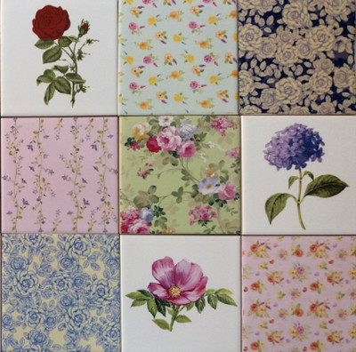 Decorative Tiles by FloralTiles.co.uk